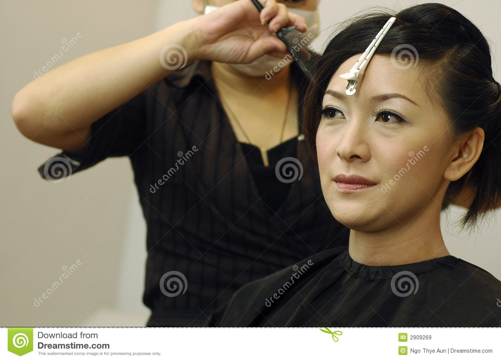 Hair Salon stock image. Image of asian, fashionable ...