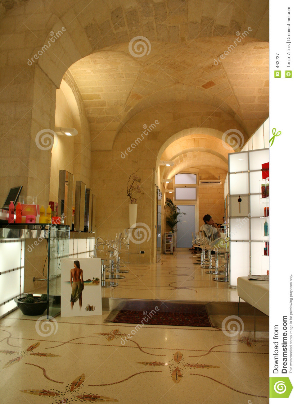 Download Hair salon stock image. Image of products, haircut, hairdresser - 463237