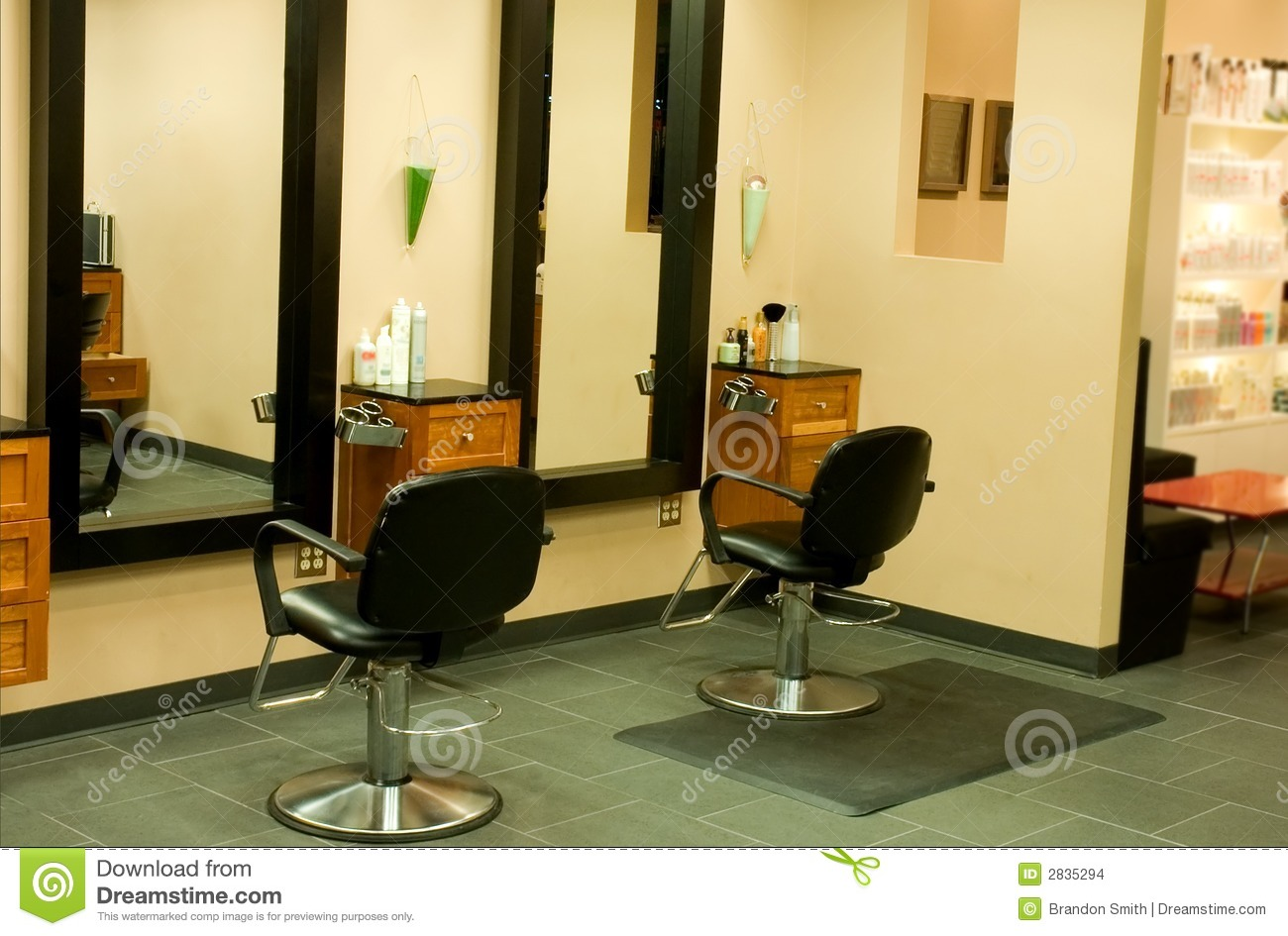 Hair Salon - 5 Stock Images - Image: 2835294