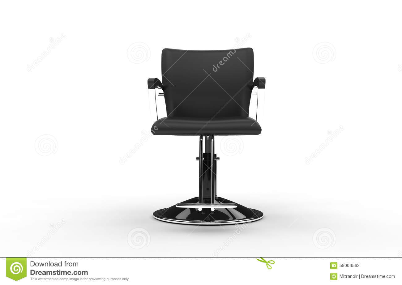 Hair salon chair isolated stock photos illustrations and vector art - Hair Salon Chair Stock Illustration