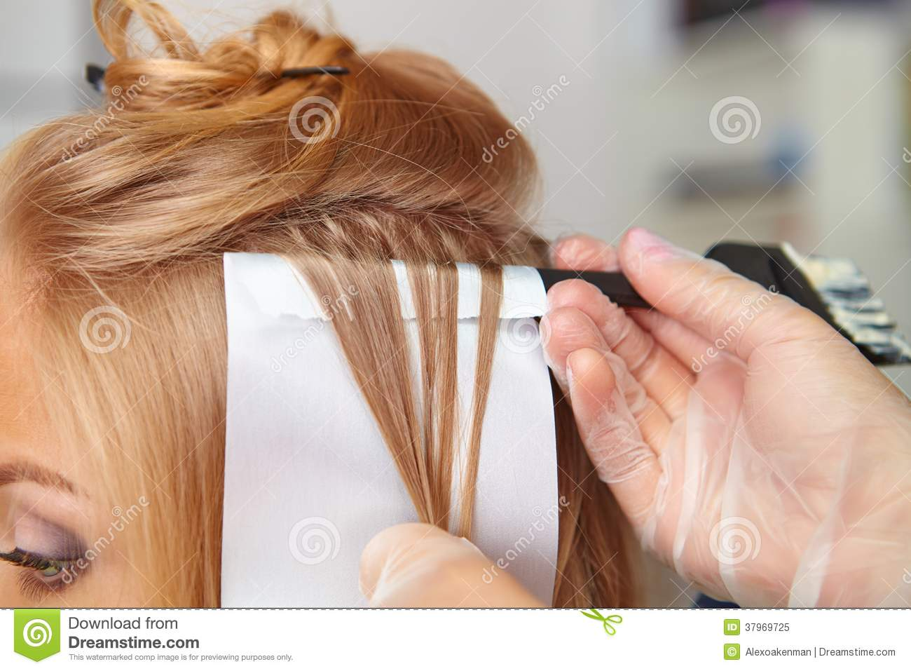 Hair salon coloring royalty free stock photo image for Photo salon