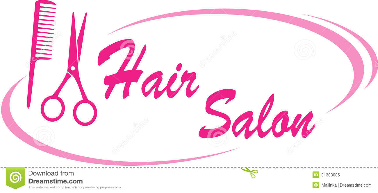 Hair Salon Sign Royalty Free Stock Photo - Image: 31303085