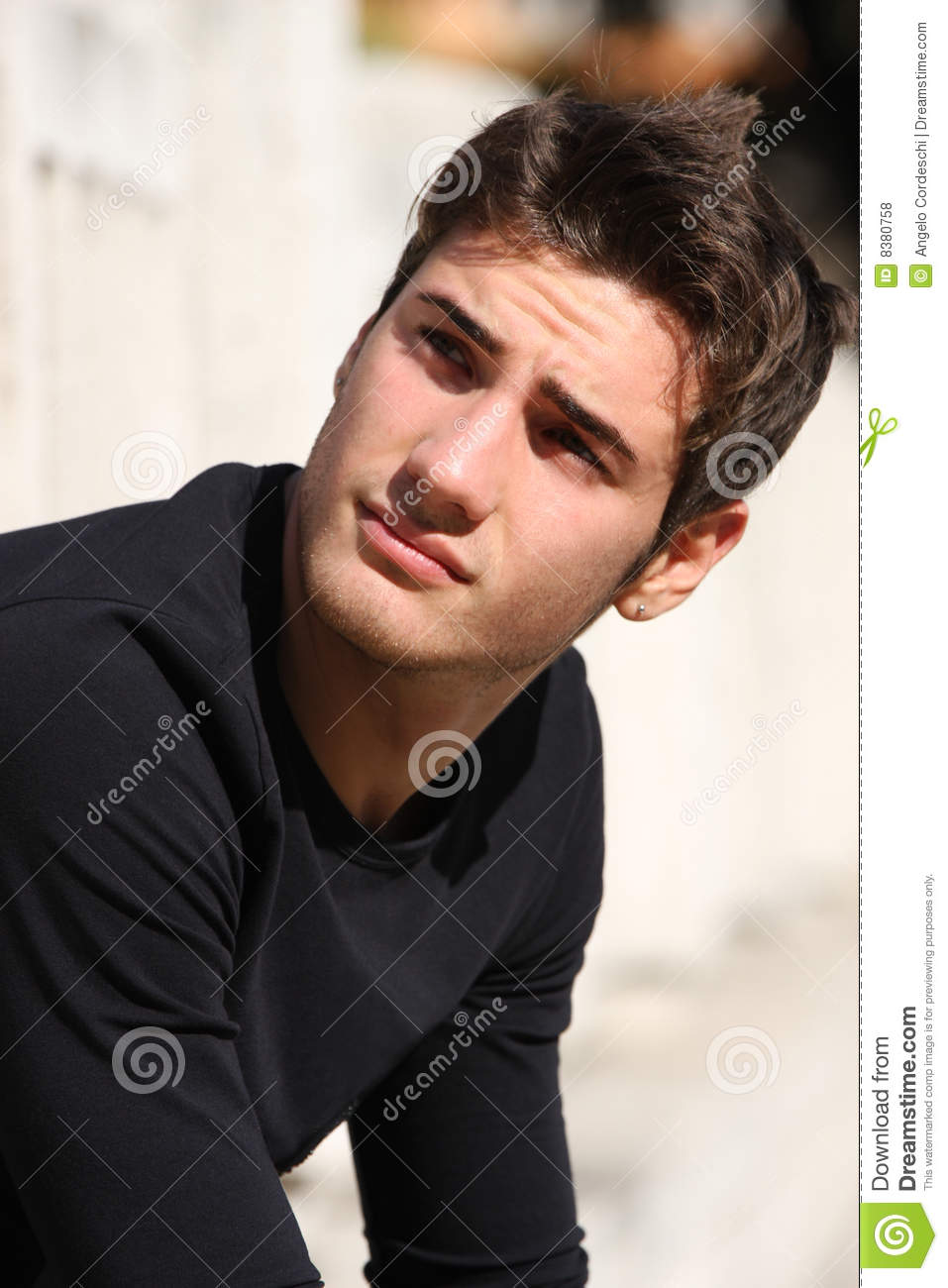 Hair Style Manly Model Gorgeous Men Royalty Free Stock