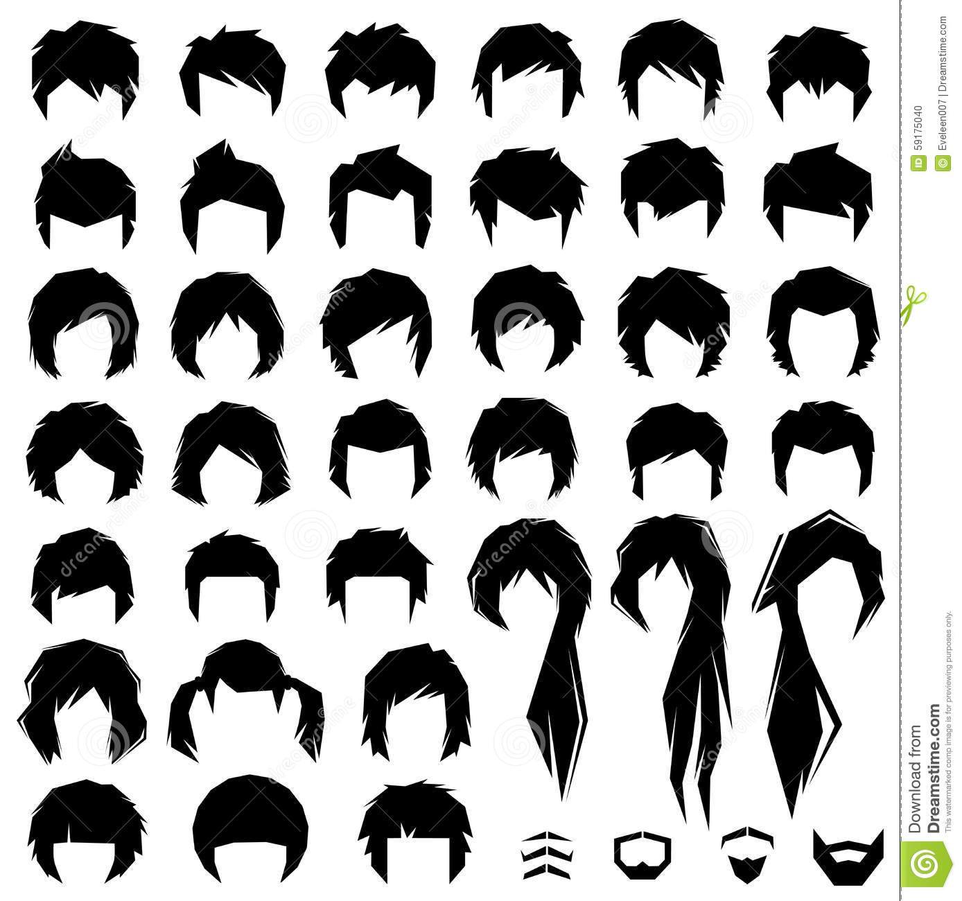 HD wallpapers different kinds of hairstyles and names