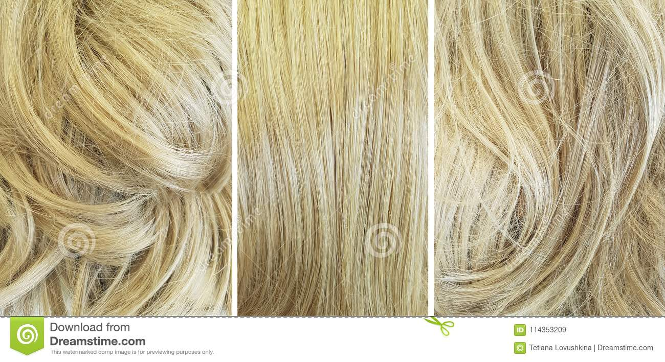 Lamination of hair: before and after. Hair Laminating Agent 14