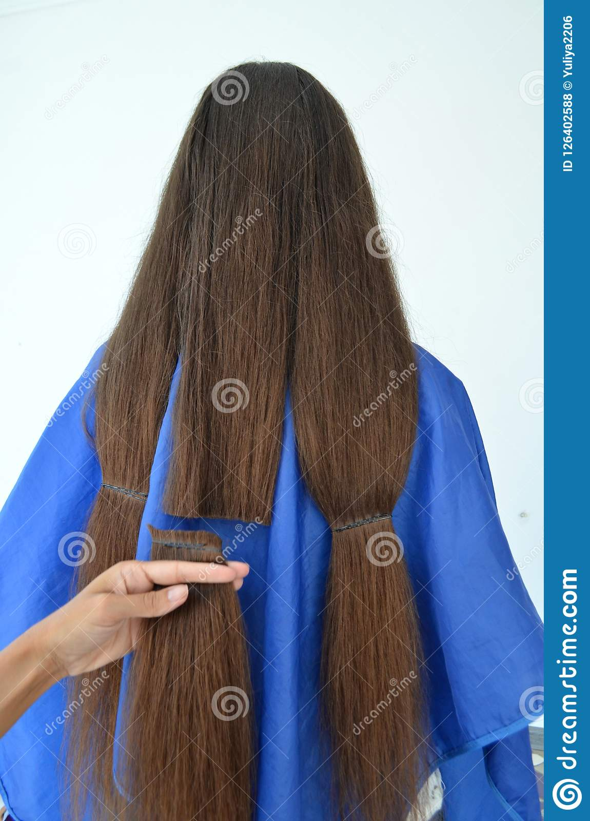Haircut on really long hair
