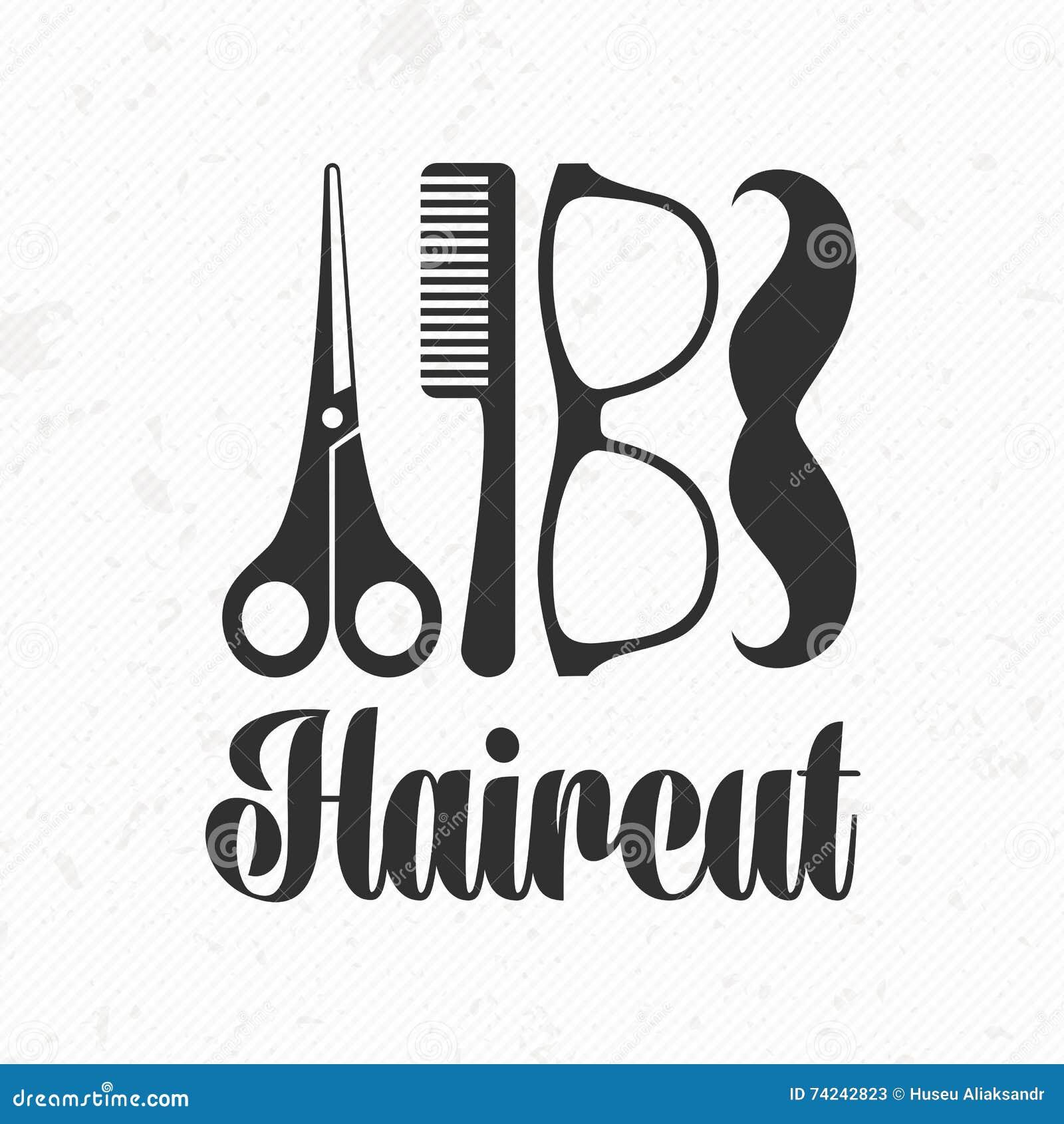 Haircut Scissors Vector Short Hairstyle 2013