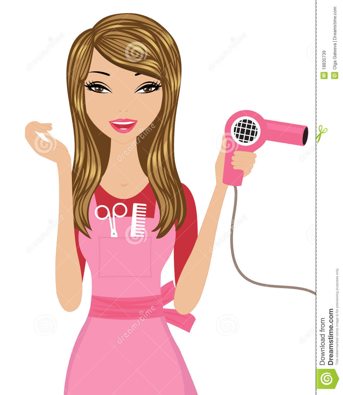 hairdresser royalty free stock images image 18835739 hair dryer clip art png hair dryer clipart png