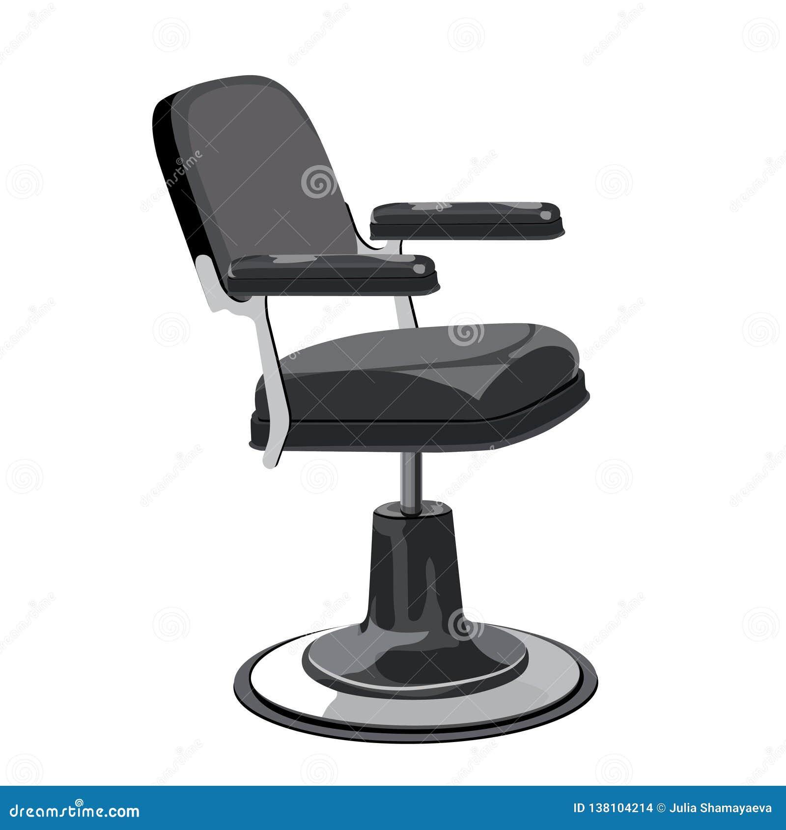 Excellent Hairdresser Chair Stock Vector Illustration Of Barbershop Ibusinesslaw Wood Chair Design Ideas Ibusinesslaworg