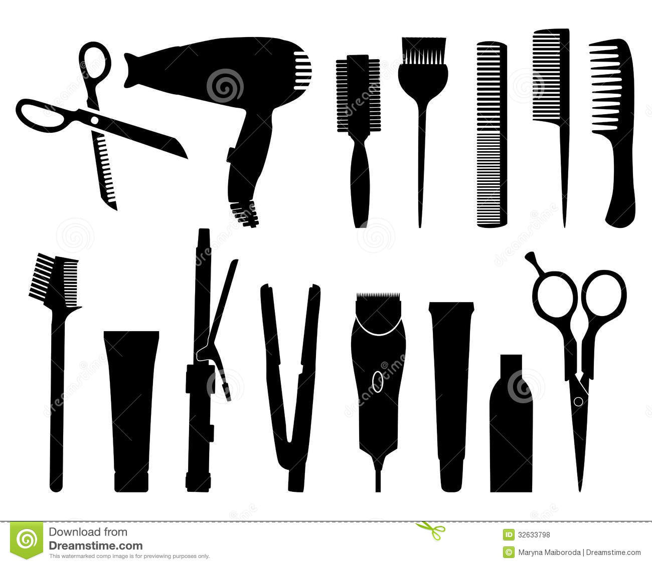 Hairdresser Stock Vector Image Of Salon Comb Haircut