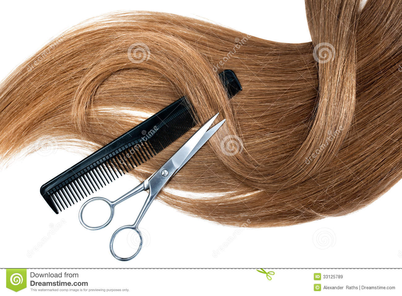 Hairdressing Royalty Free Stock Images Image 33125789