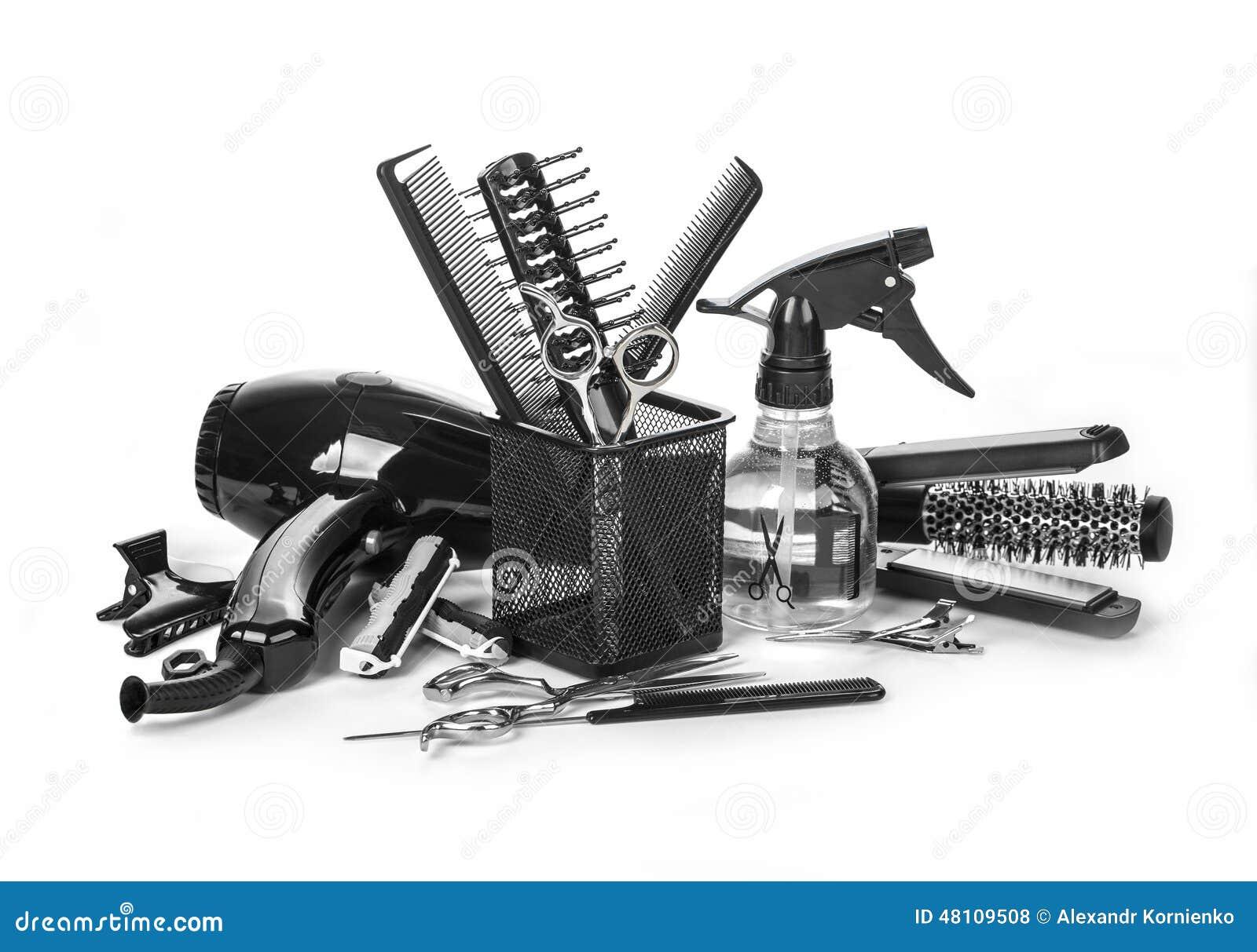 Hairdressing Tools Stock Photo - Image: 48109508