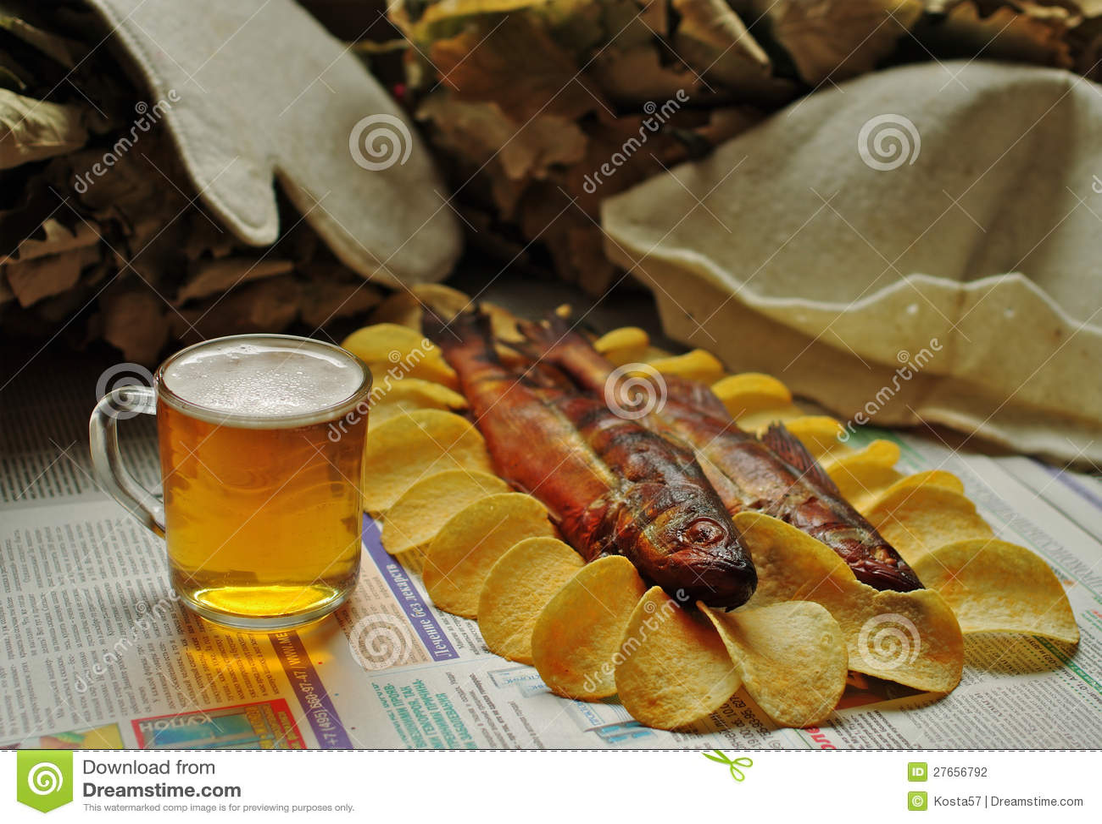 Hairdryer - cerveza, pescado, virutas