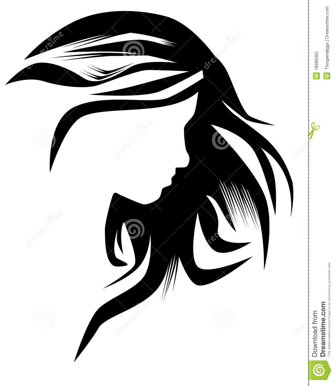 Hairstyle Stock Photography Image 18989362