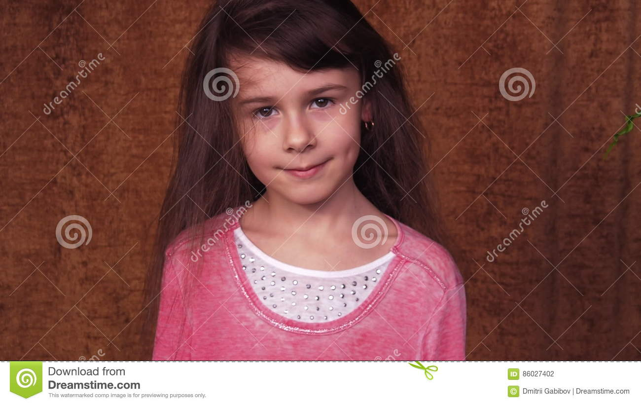 Hairstyle In Children Stock Footage Video Of Hair Caucasian 86027402