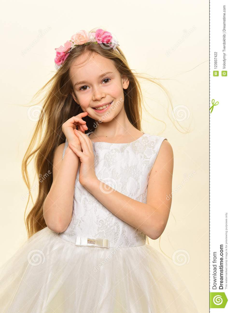 Long Hair Easy Cute Hairstyles For Little Girls 86