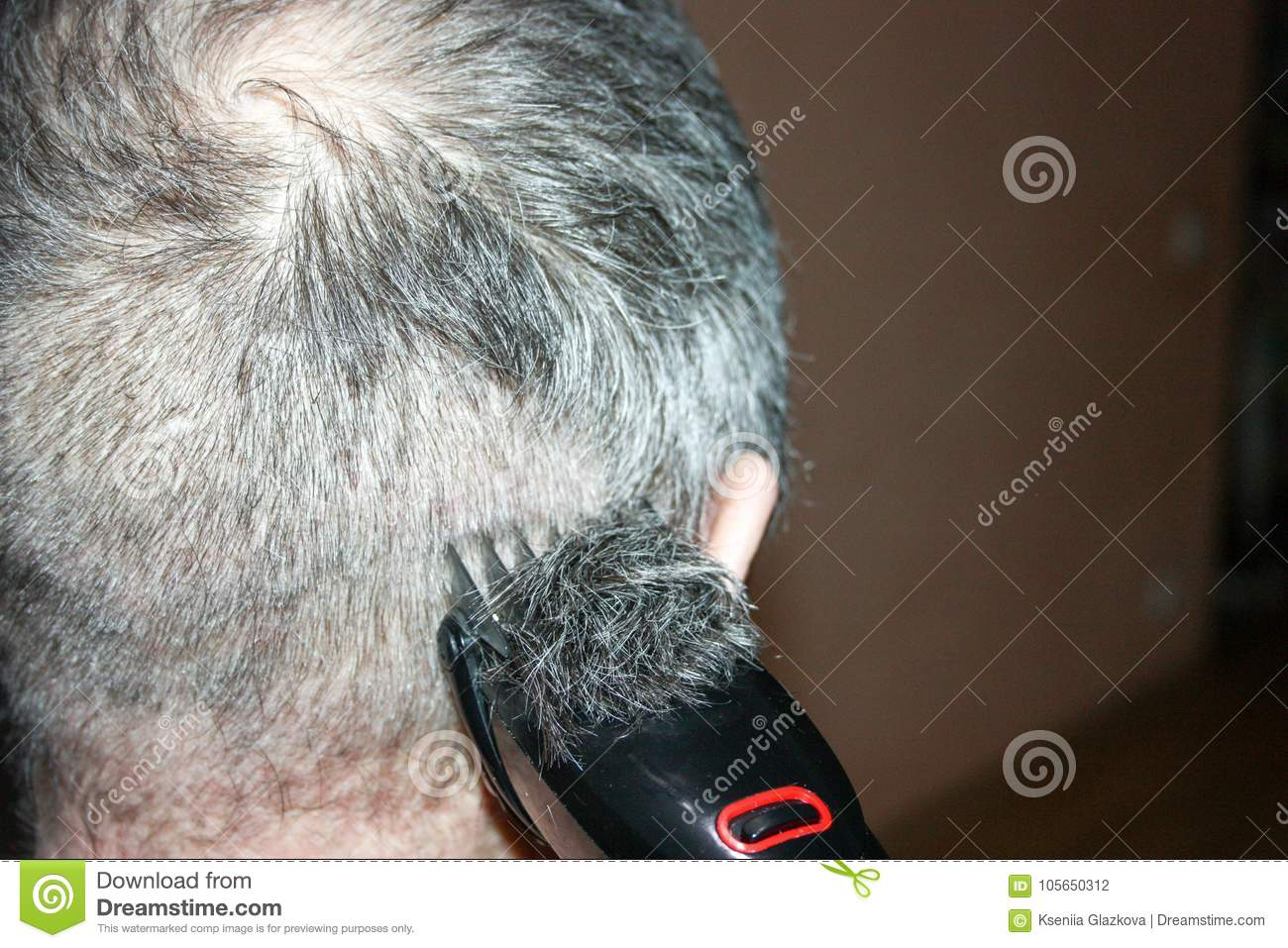A Hairstyle For Men Under Zero With Stock Photo Image Of Clippers