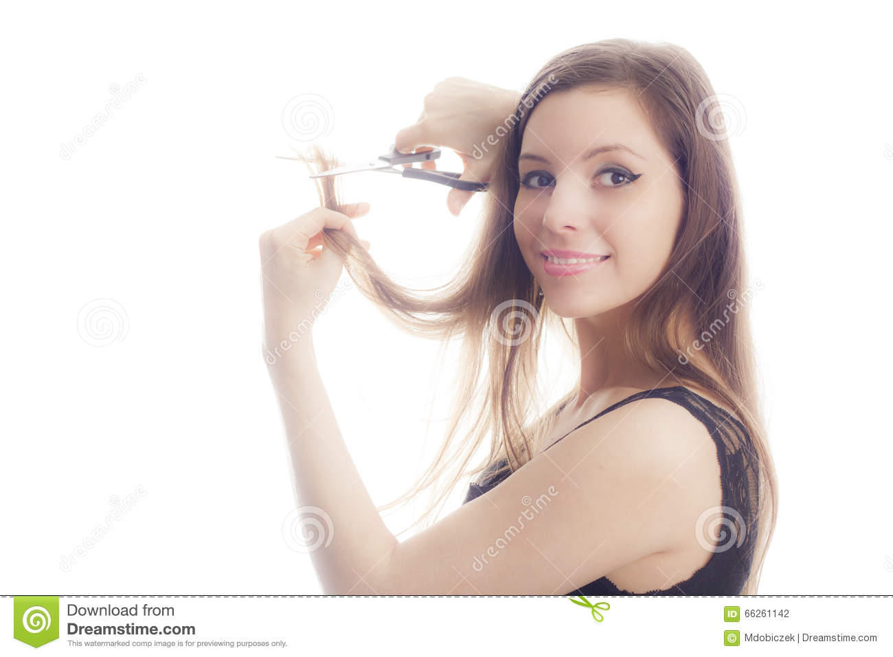 Hairstyle Stock Photo Image Of Hairdressing Feelings 66261142