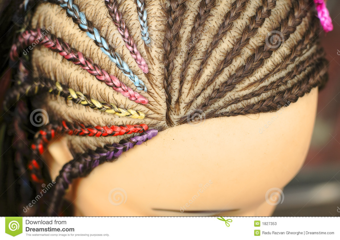 Hairstyles On Mannequins Royalty Free Stock Photo - Image: 22687695