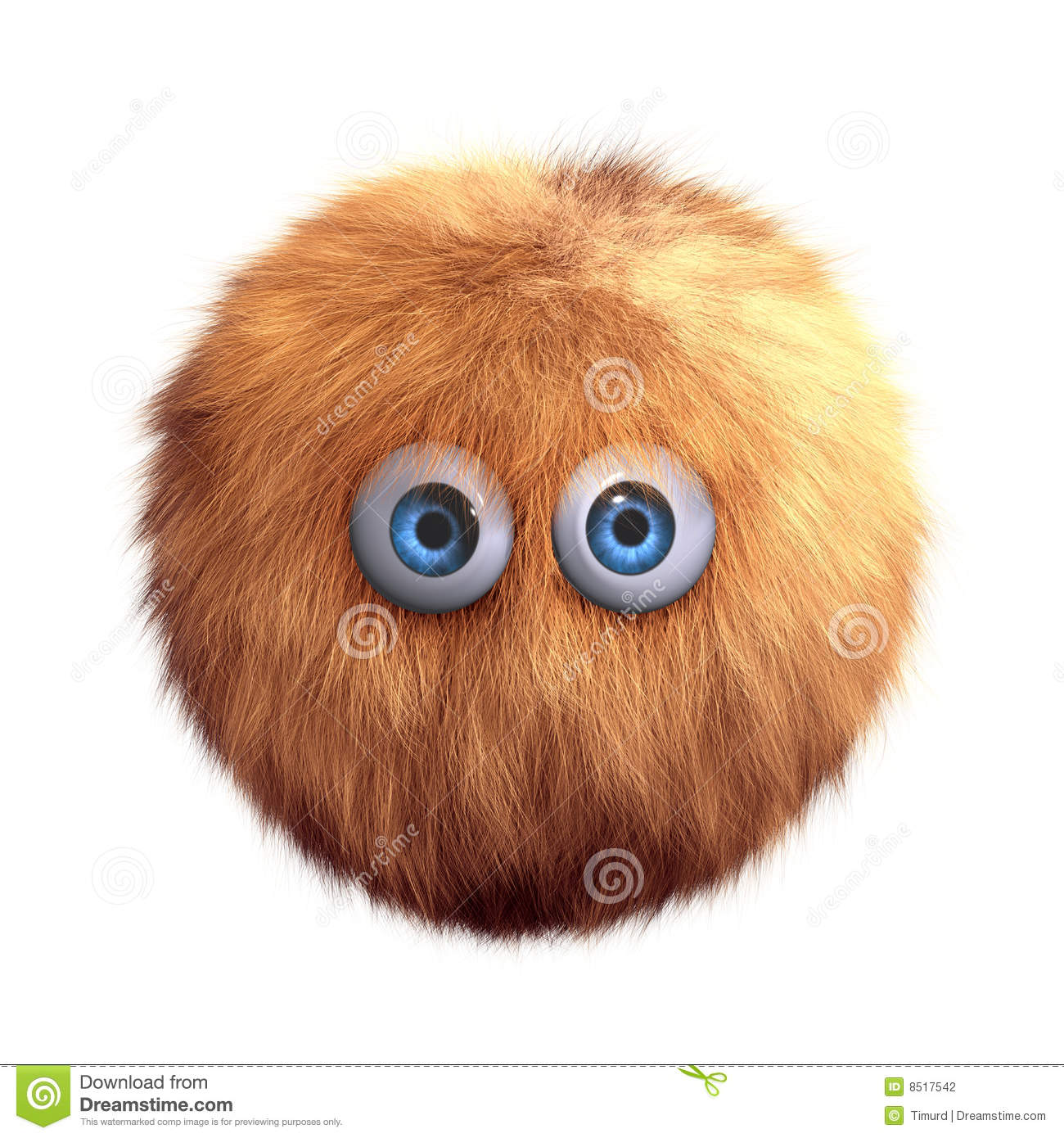 Hairy Ball Toy Stock Photography Image 8517542