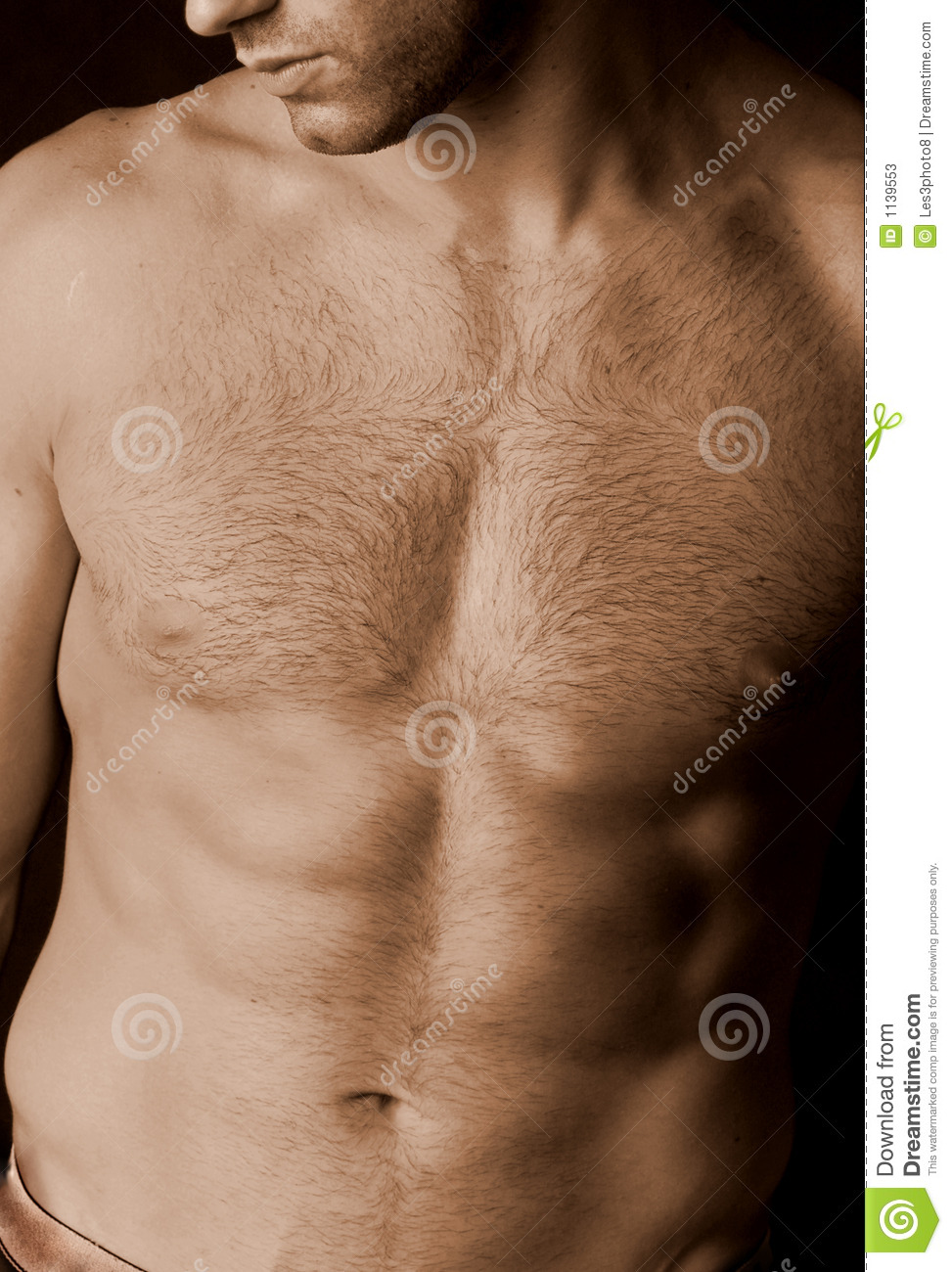 Free pictures of hairy chest men