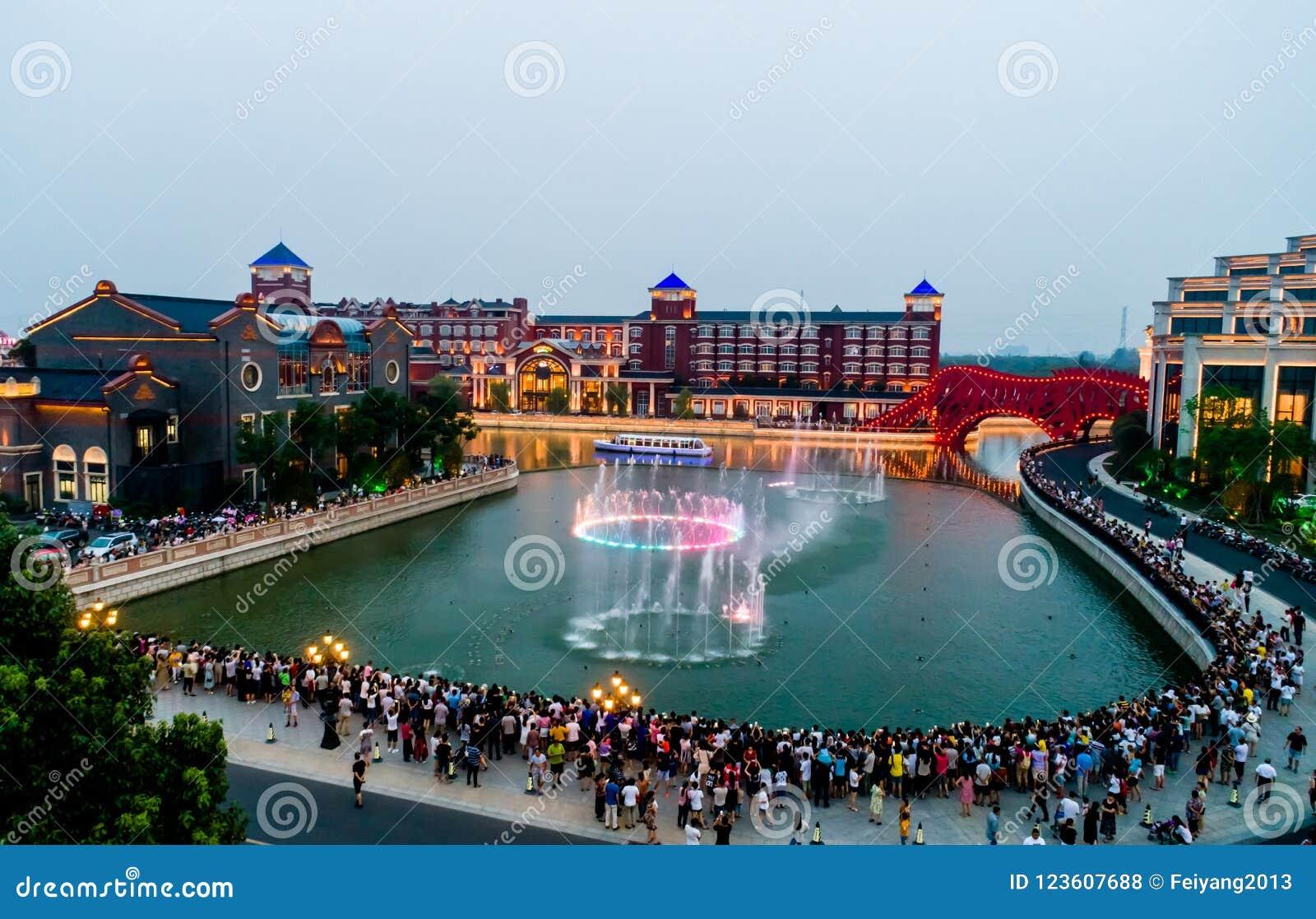 Haitang pegaza wody miasta musicalu fontanna