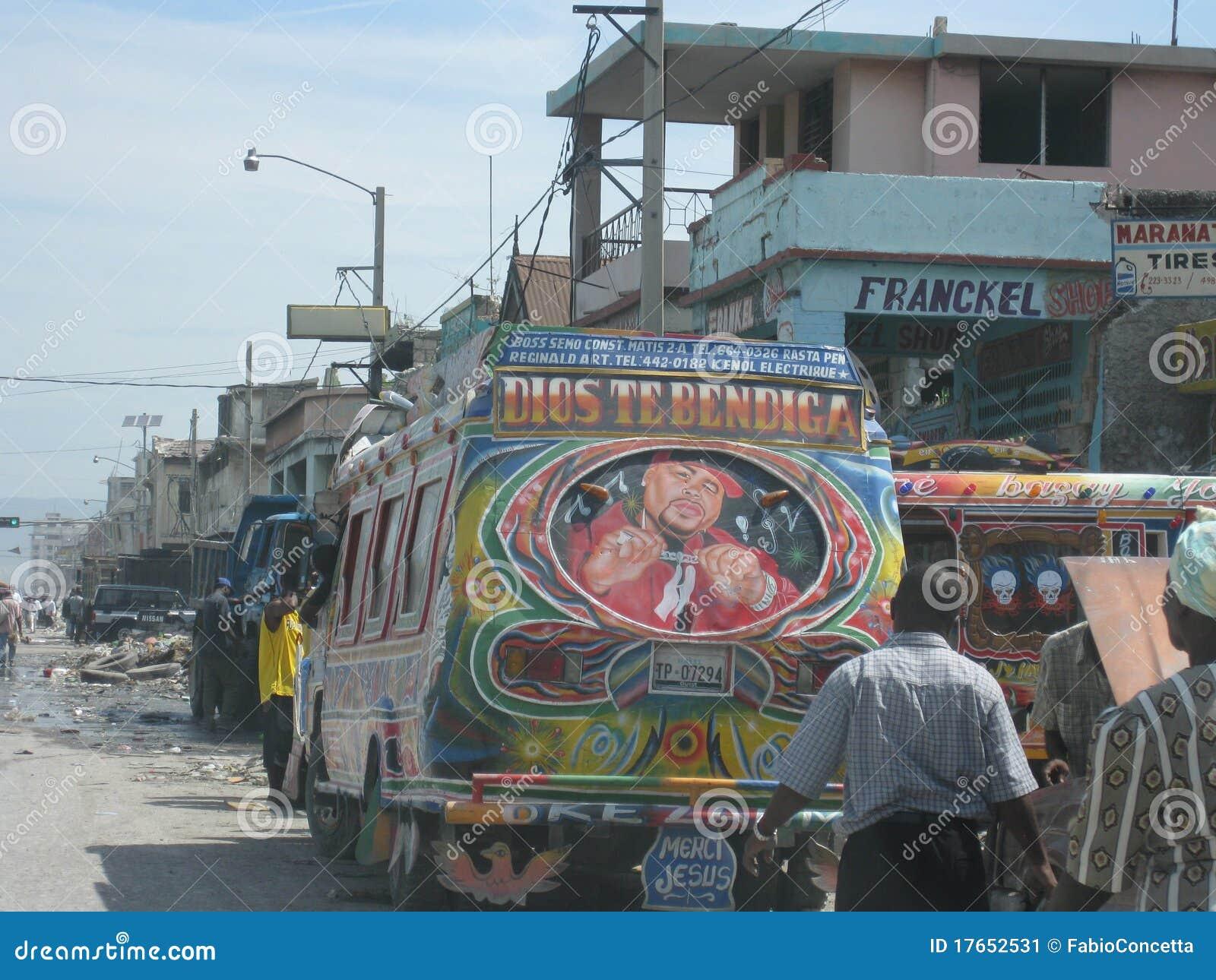 Haiti för 3 buss hope