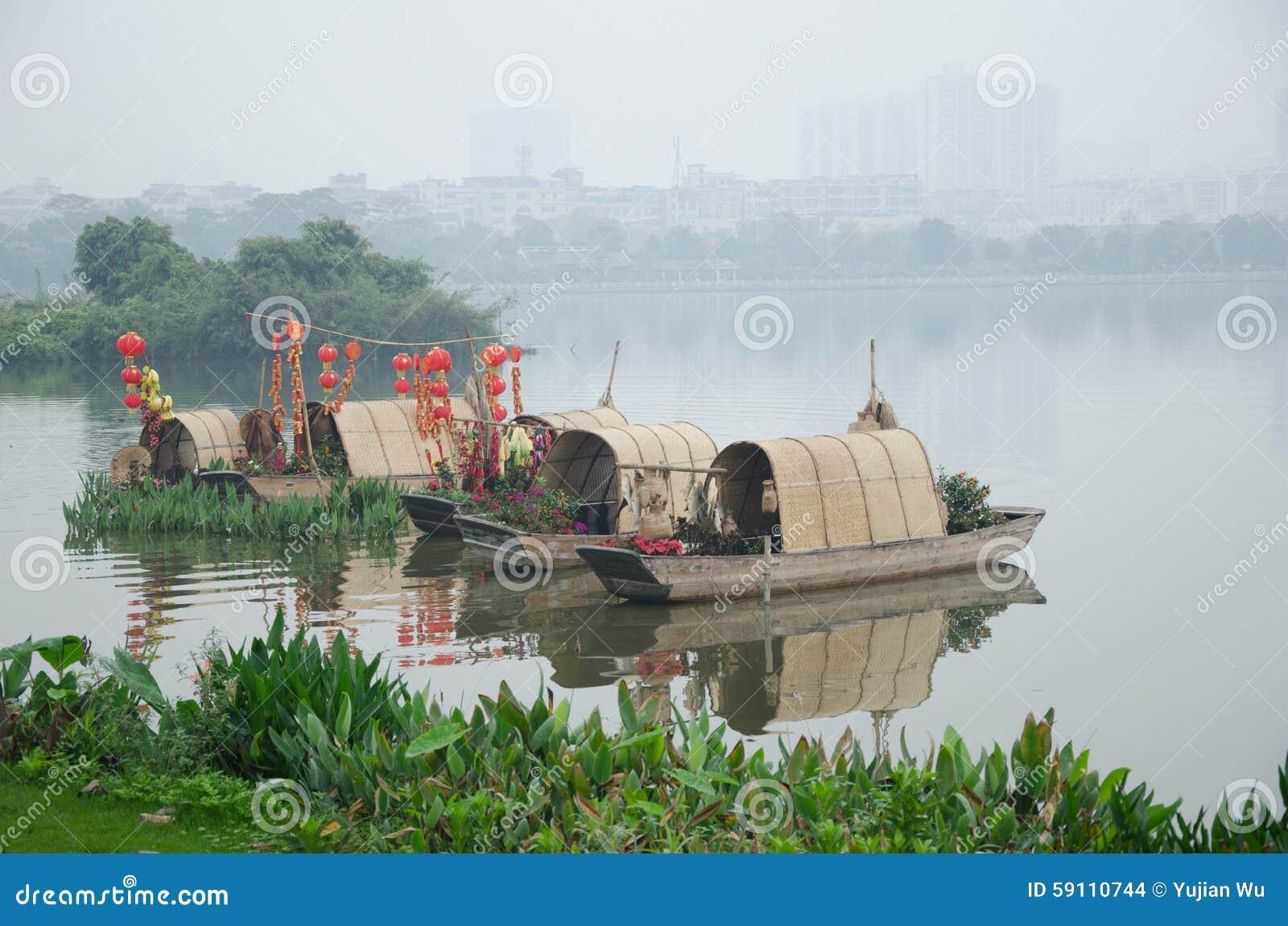 Haizhu广州湖风景区