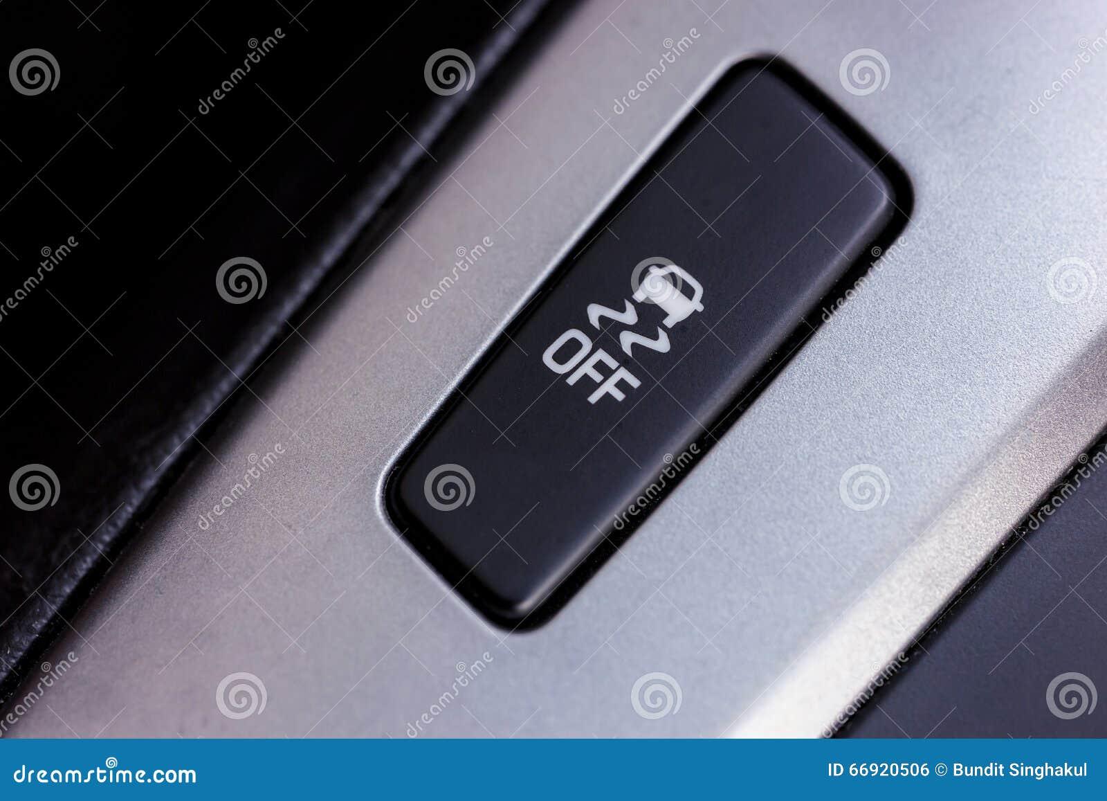 Hal knapp En bild av en knapp för dragkraftkontroll