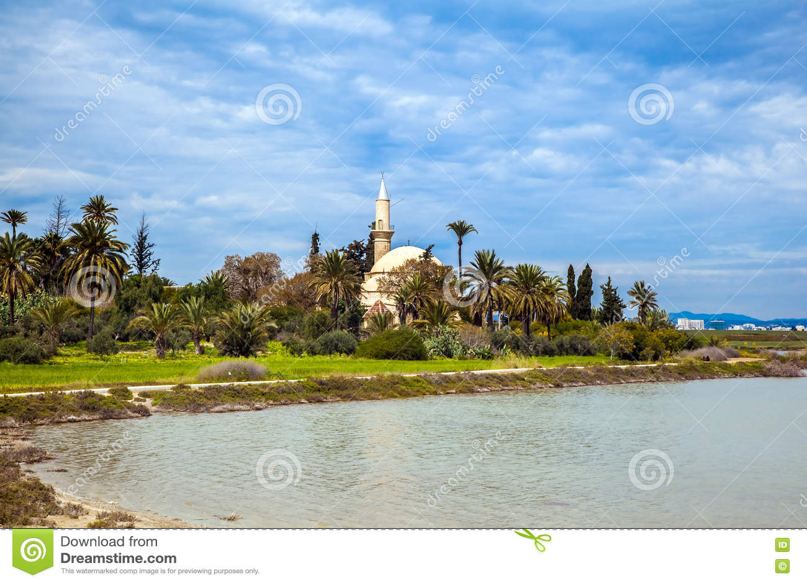 Hala Sultan Tekke ou la mosquée d Umm Haram