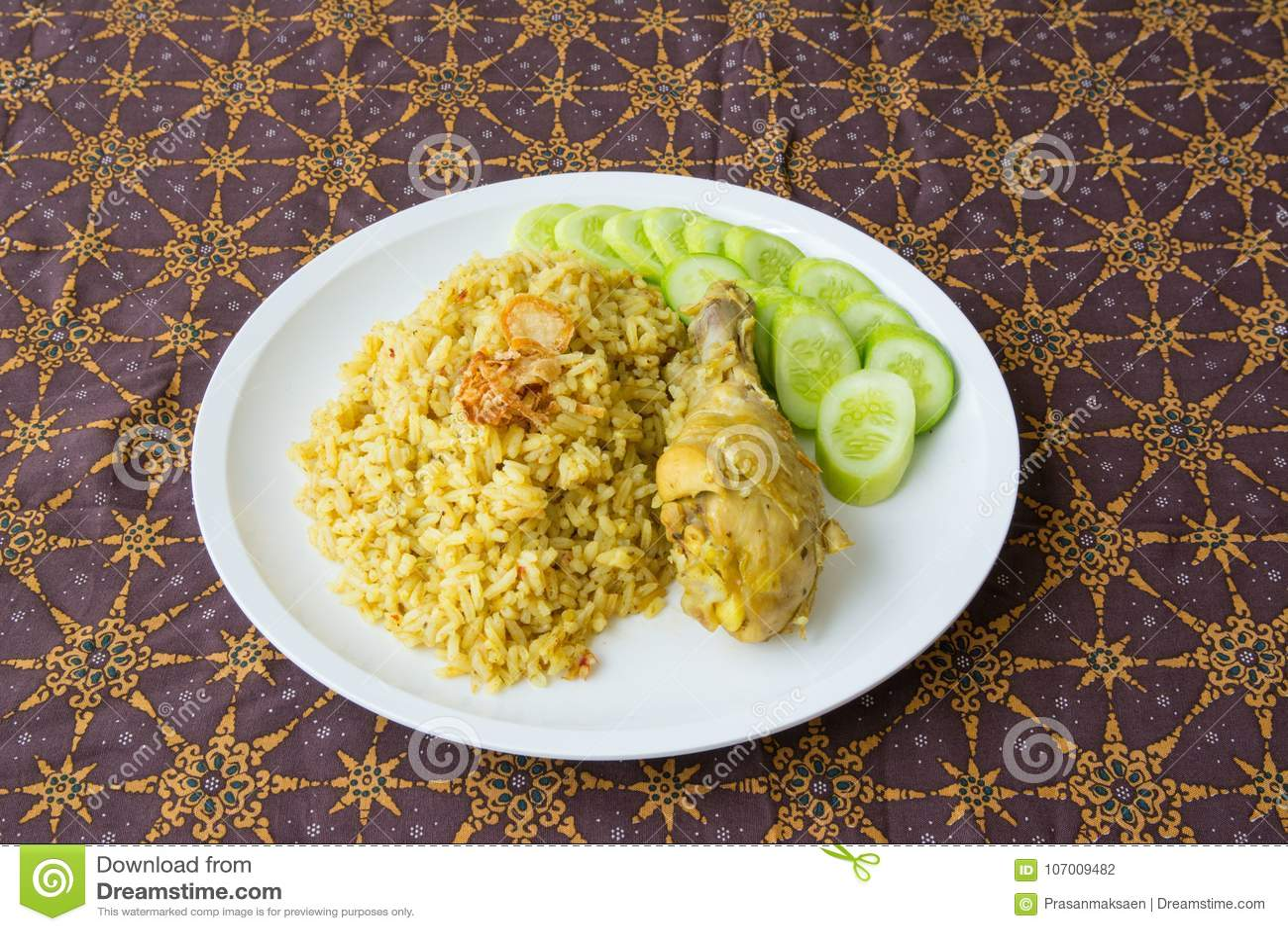 Halal food Arab rice stock photo  Image of indian, asian