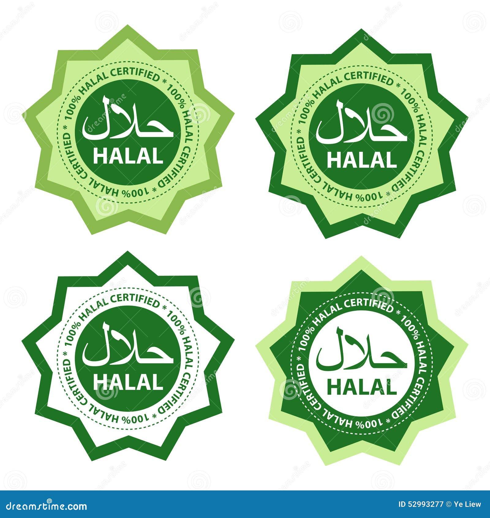 Halal food stock vector image of islamic illustration 52993277 halal food buycottarizona
