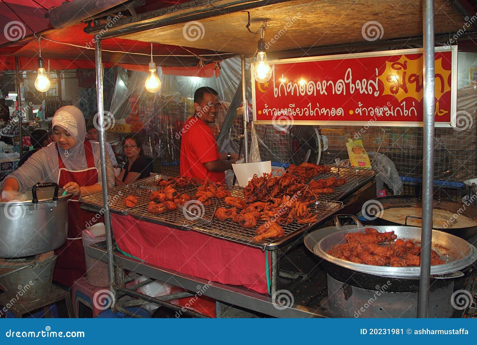 Halal Food Stall At Hat Yai Editorial Photo Image Of Travel Stall 20231981