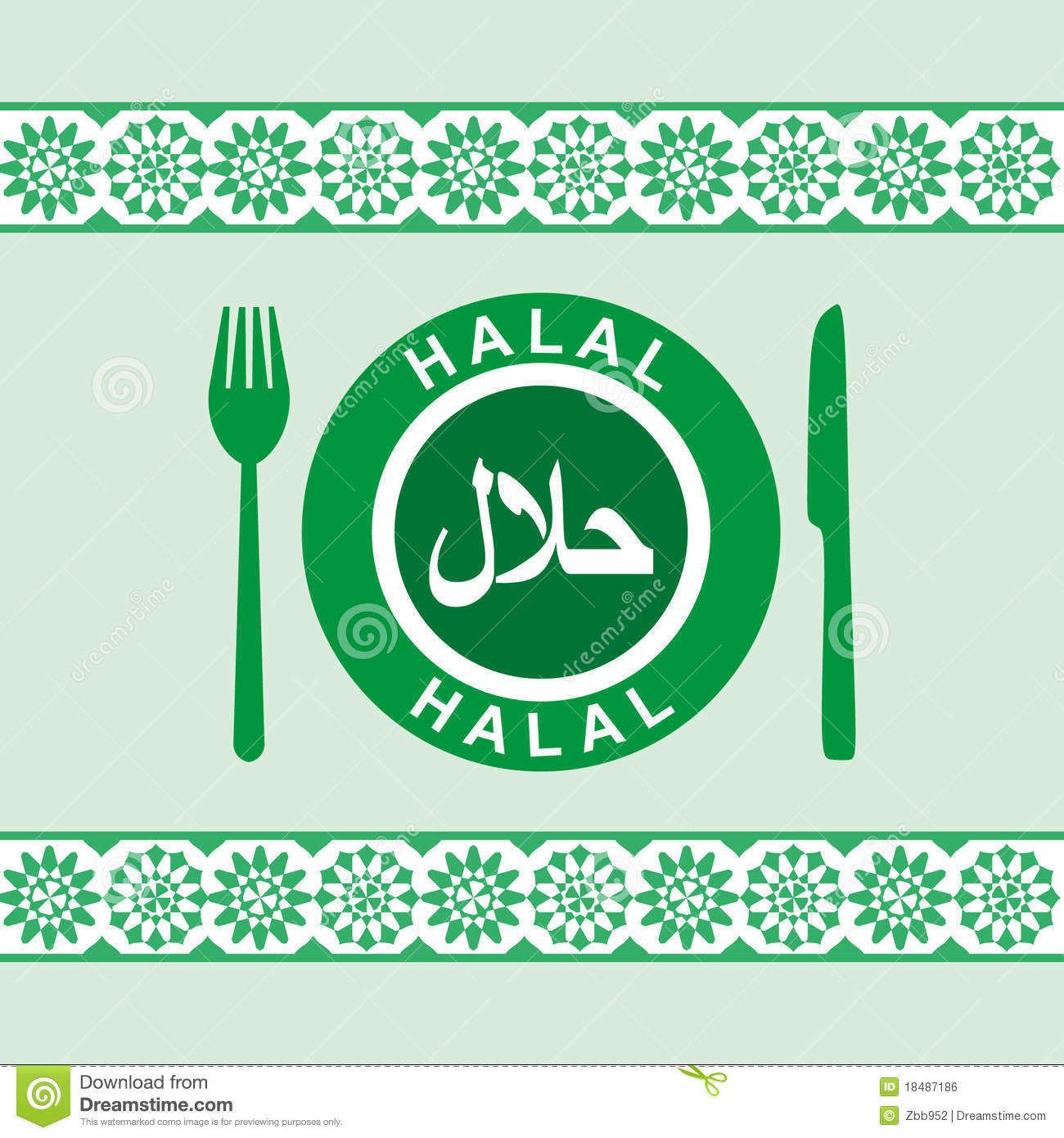Halal Plate Knife And Fork Royalty Free Stock Image  : halal plate knife fork 18487186 from www.dreamstime.com size 1300 x 1390 jpeg 196kB