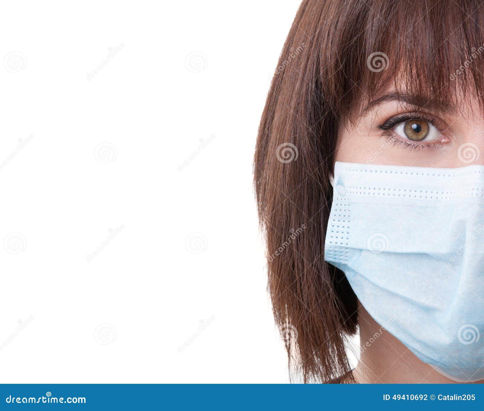 Download Halbes Gesicht Einer Ärztin Stockfoto - Bild von auge, frau: 49410692