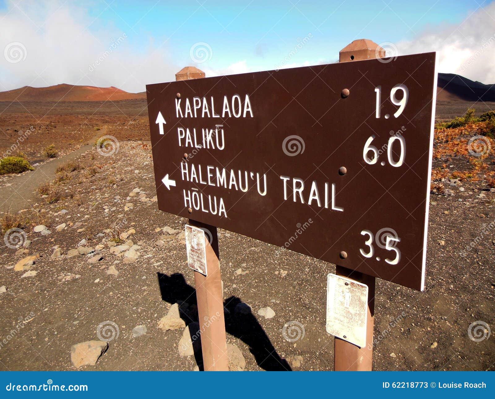 Haleakala Trails