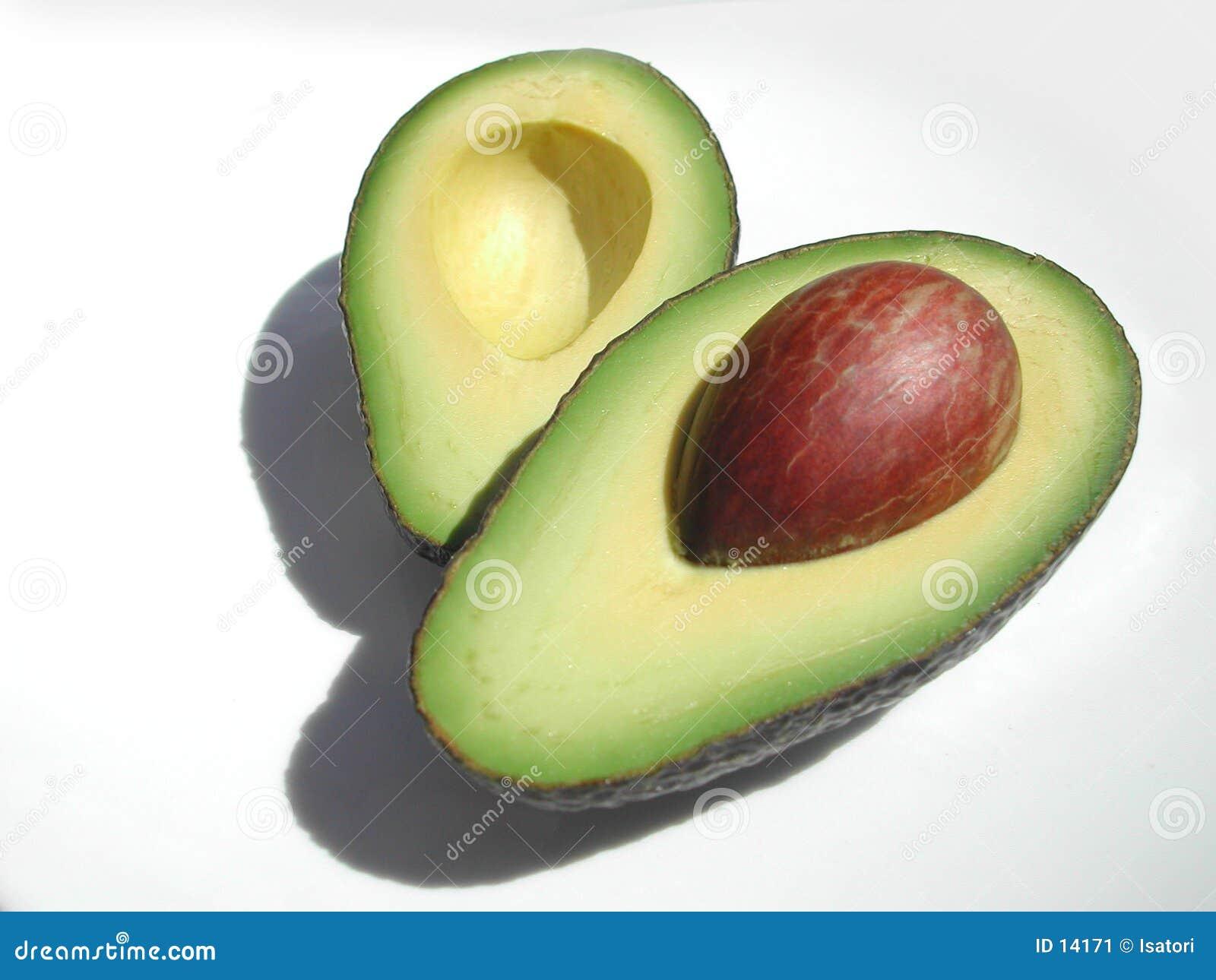 Half avokado