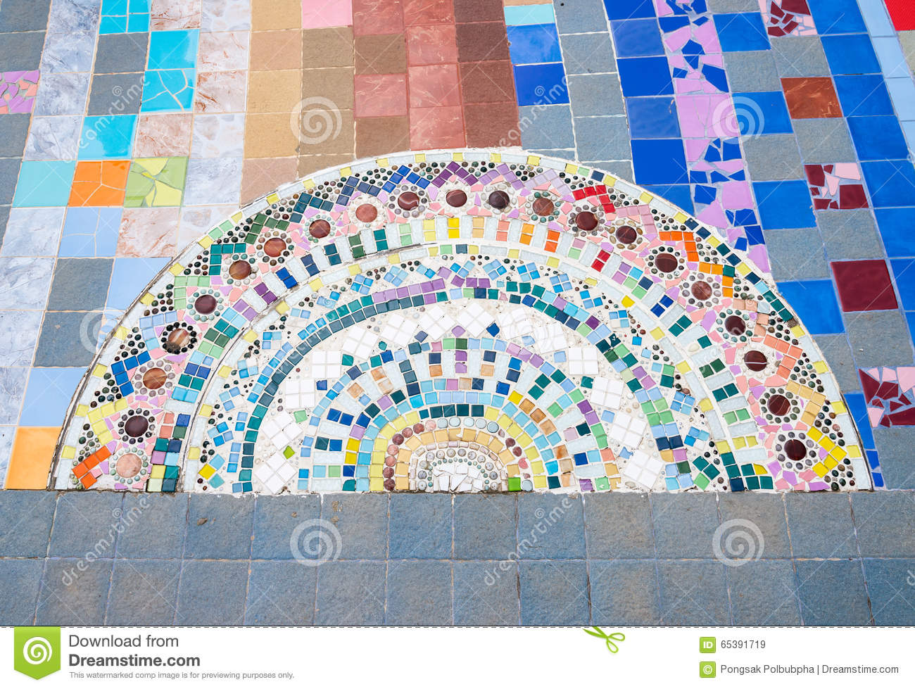 Half Circle Ceramic Tile On Stock Image - Image of circle, style ...