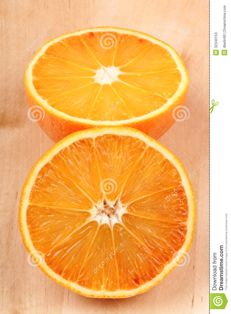 how to cut up an orange