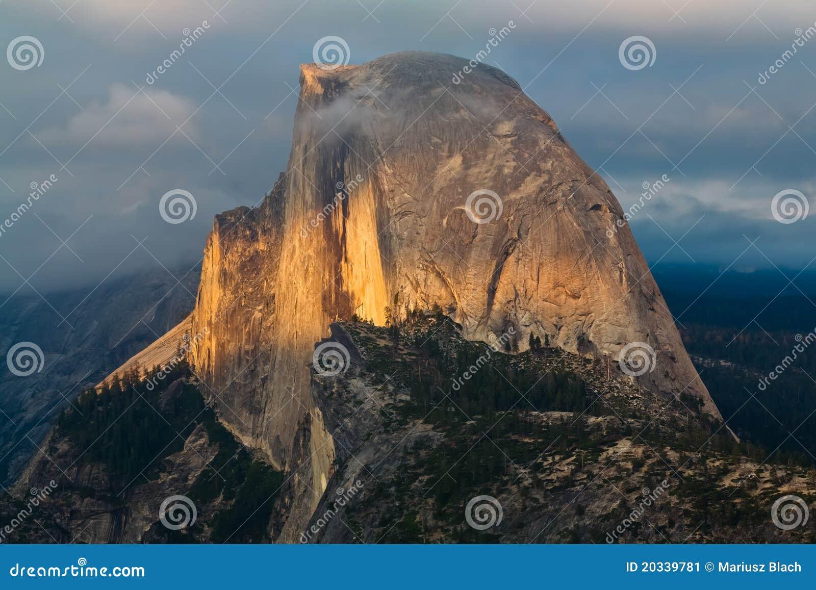 Download Half Dome stock image. Image of yosemite, halfdome, dome - 20339781
