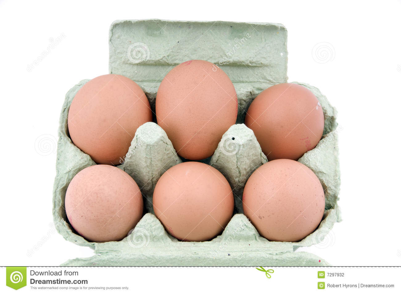 Half dozen eggs stock photo. Image of market, yolk, dozen ...