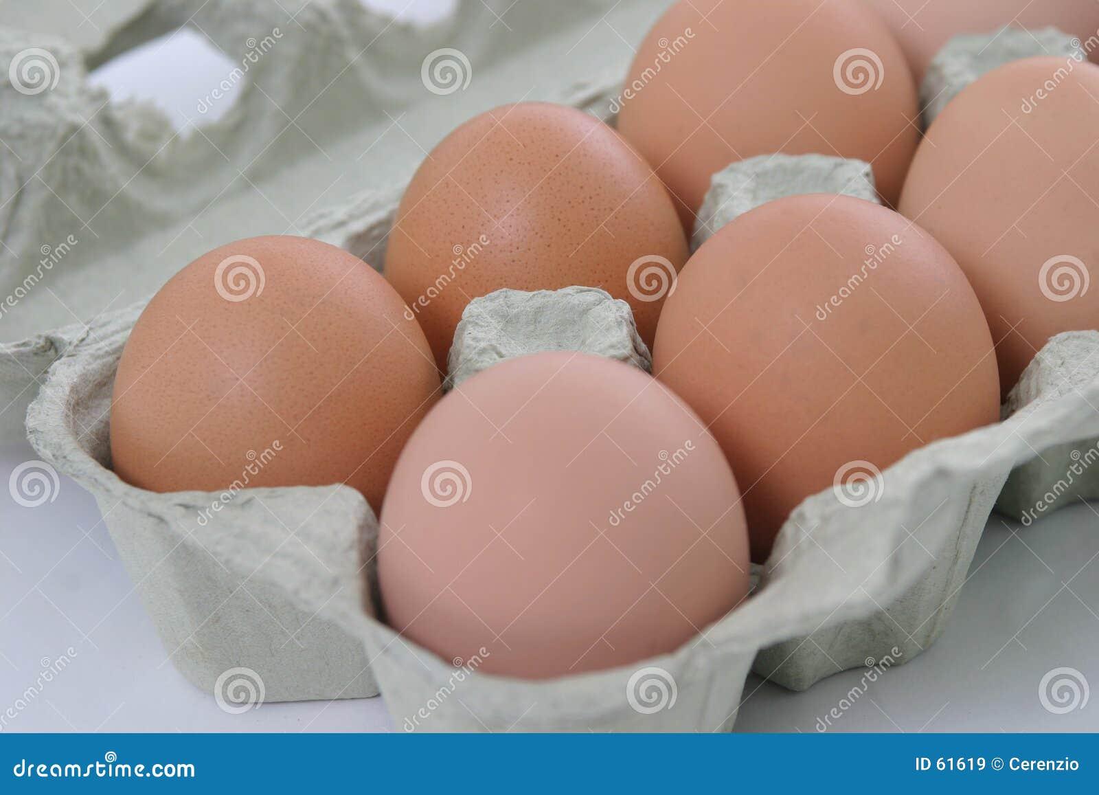 Half dussina ägg