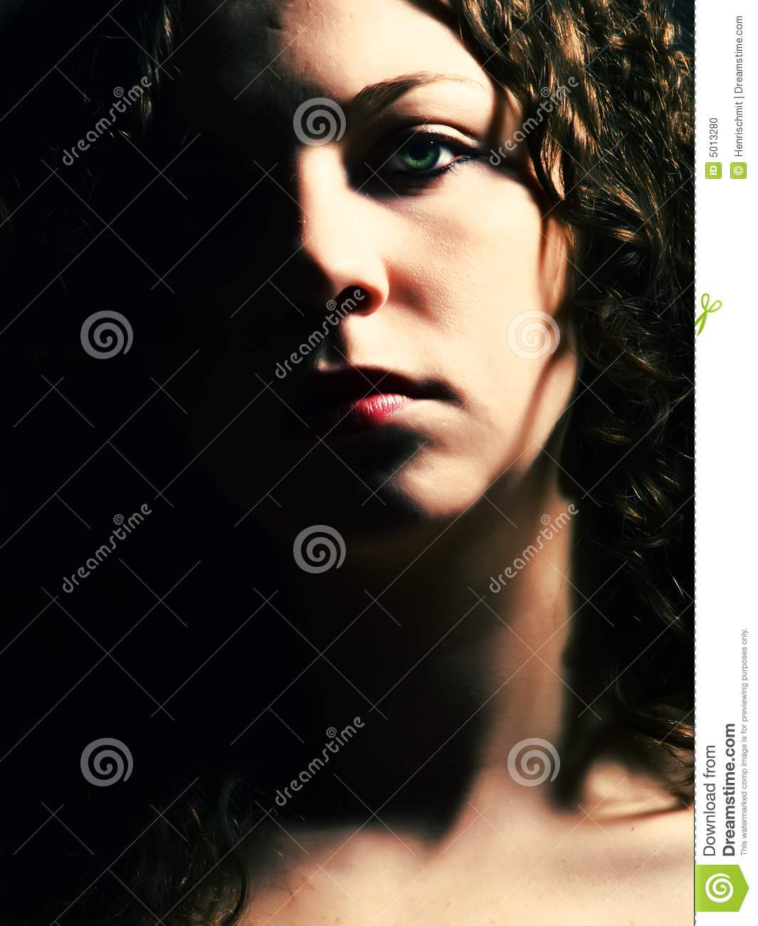 Pretty Lady Face Half face of a woman Beautiful Lady Face Clip Art