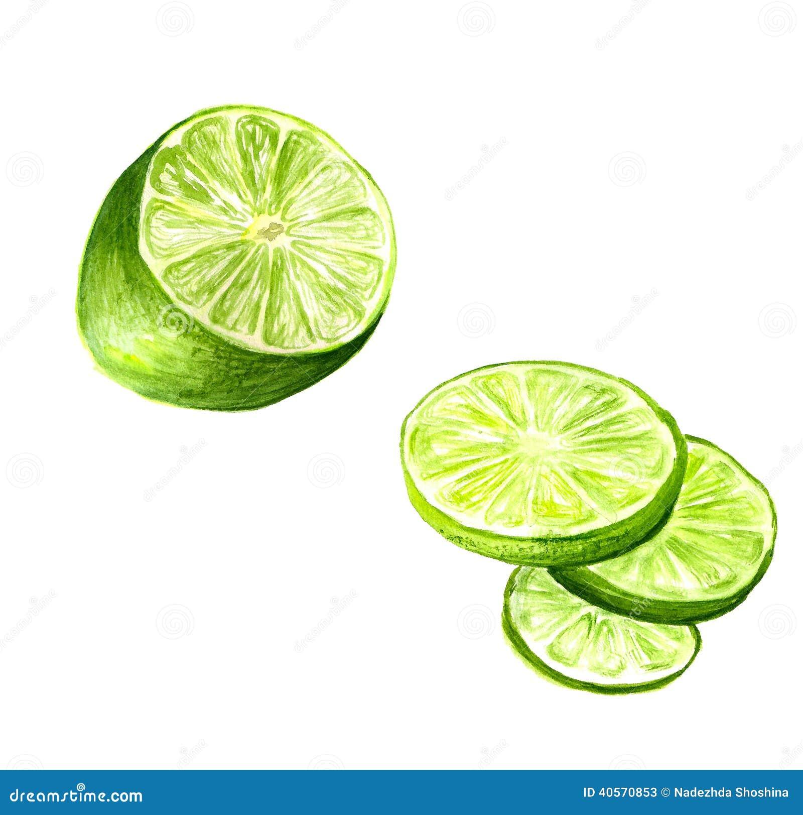 Half limefrukt