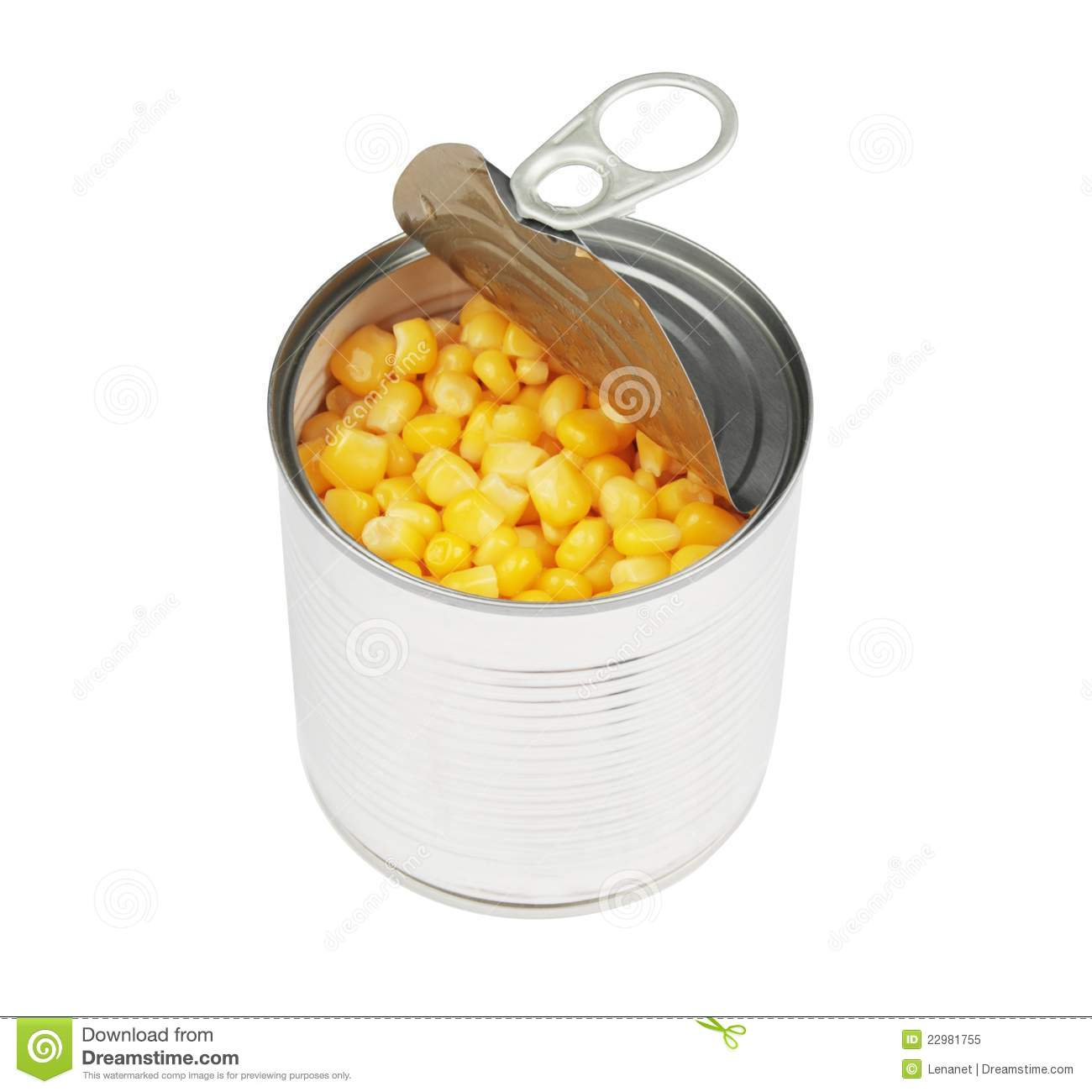 opened corn can stock photo image of open kernel store 22981736