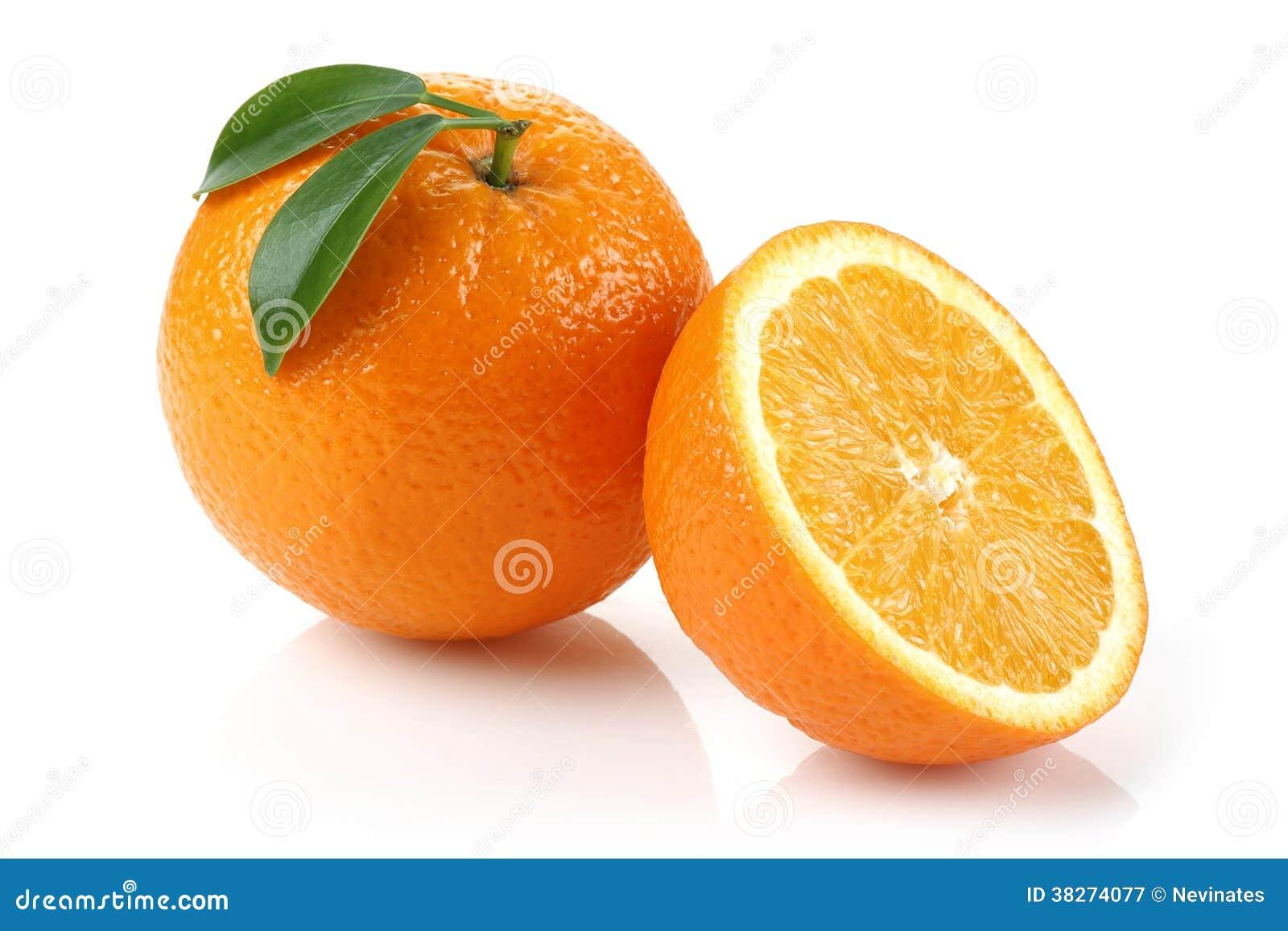 Half Orange and Orange
