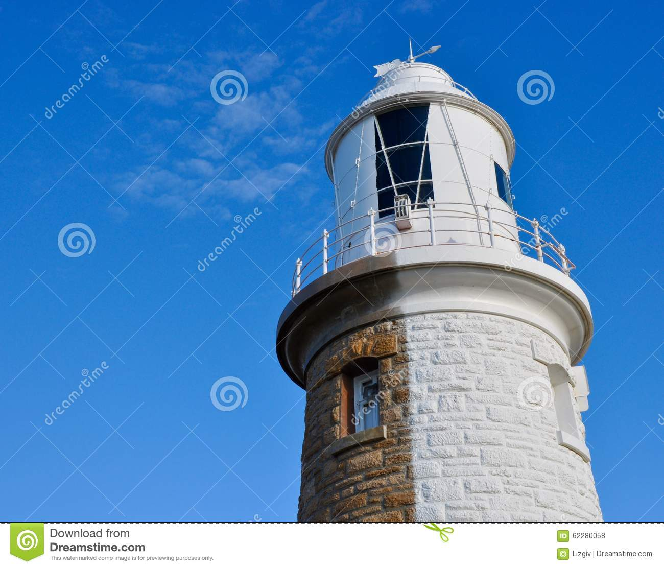 Half-Painted:Woodman Point Lighthouse