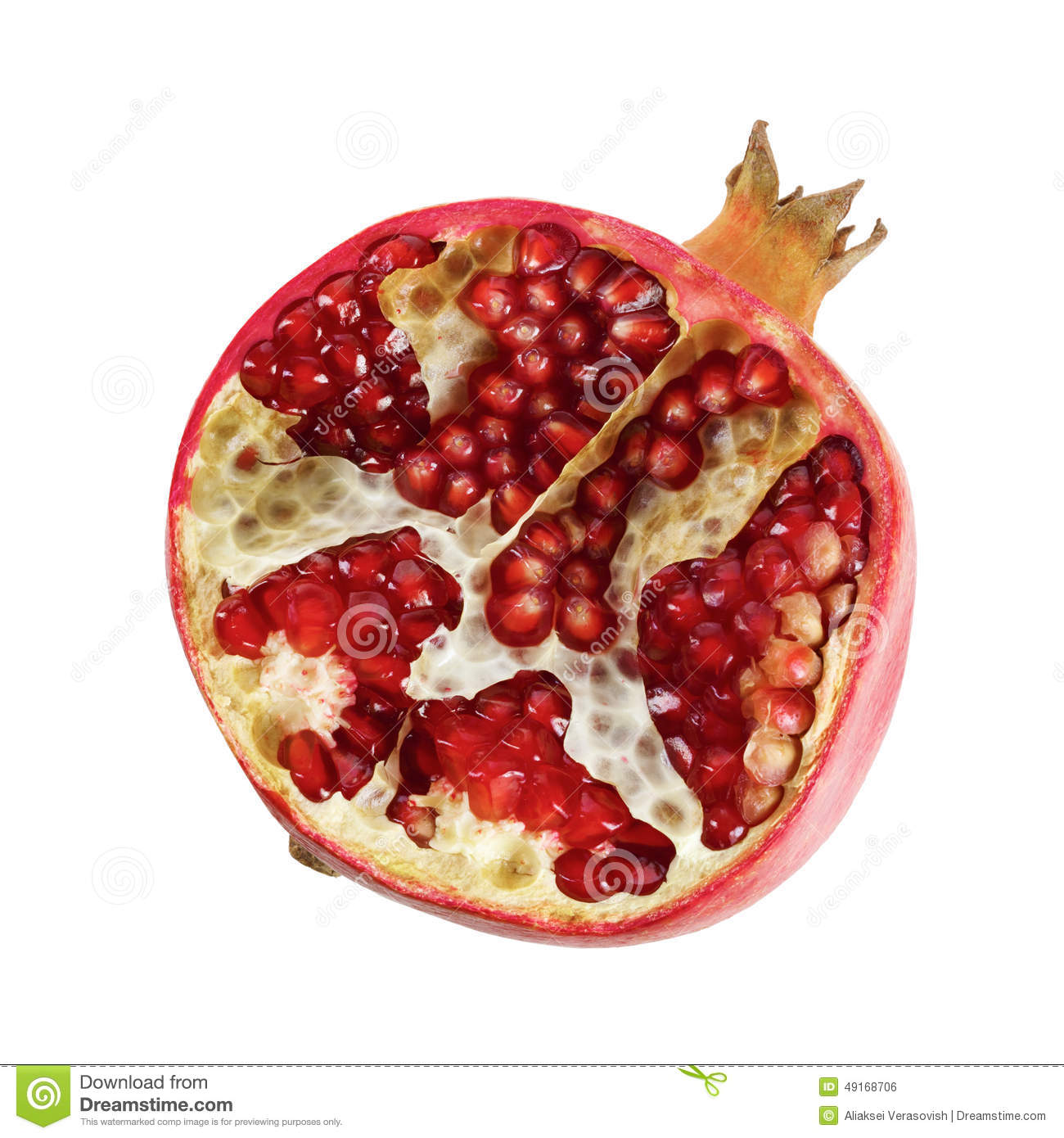 how to cut a pomegranate tasty