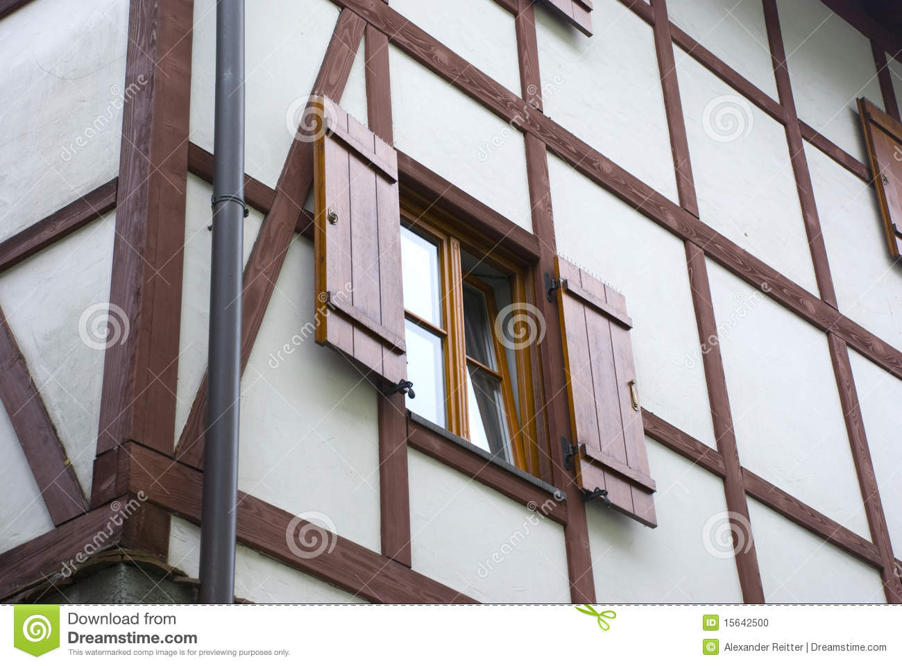 Half timbered house stock photo image 15642500 for Half timbered house plans