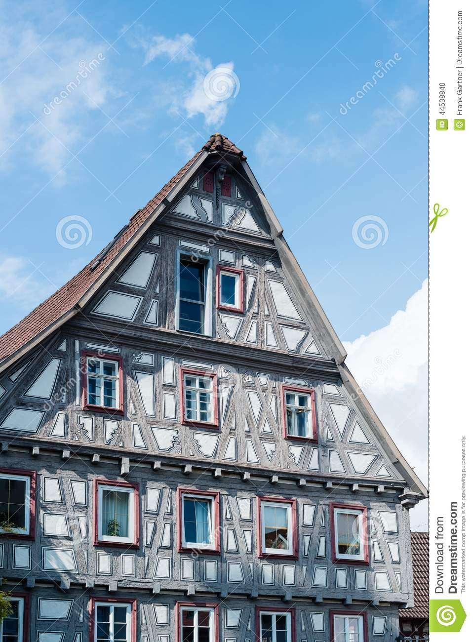 Half timbered house stock photo image 44538840 for Half timbered house plans